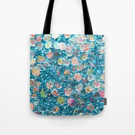 Mermaid Scales 2 - Blue Tote Bag