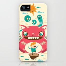 Imaginary Friends iPhone Case