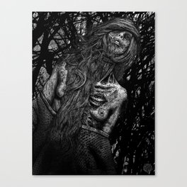 one with the dead Canvas Print