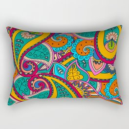 African Style No22 Rectangular Pillow