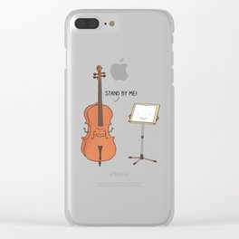 stand by me Clear iPhone Case
