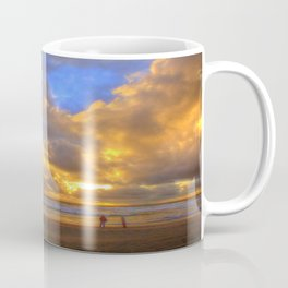 El Niño Sunset Huntington Beach Pier Coffee Mug