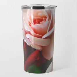 Pink and red rose Travel Mug