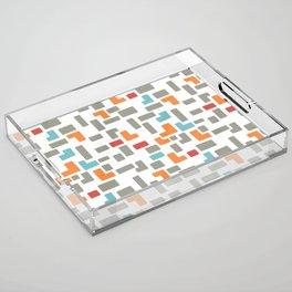 Bricks - light Acrylic Tray