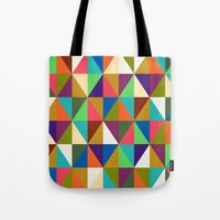 woody Tote Bags featuring Woody by Bianca Green