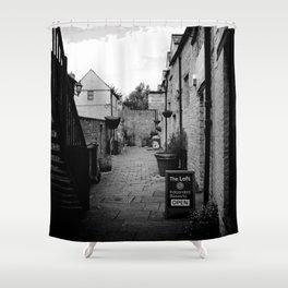 Templar Mews - Black Jack St - Cirencester  Shower Curtain