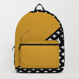 Swiss crosses (grunge) Backpack