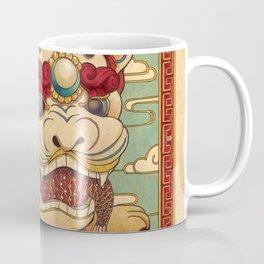 Chinese Lion Coffee Mug