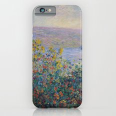 Flower Beds at Vetheuil by Claude Monet Slim Case iPhone 6