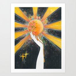 Hold onto your sun Art Print