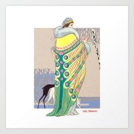 Art Deco 3 Art Print