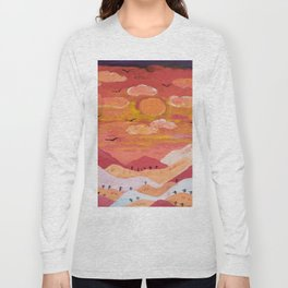 Mountains at day Long Sleeve T-shirt