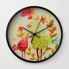 chouchou Wall Clock