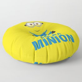 one in a minion Floor Pillow