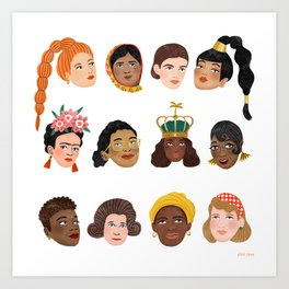 Women's Day 2019 Art Print
