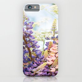 Wild Flowers on Summer Meadow Bouquet #decor #society6 #buyart iPhone Case