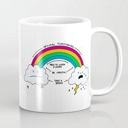 Rainbow of Emotional Regulation - Social Emotional Learning Teaching Tool Visual Aid Coffee Mug