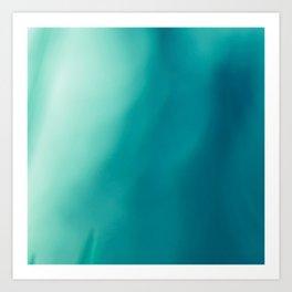 The colors of the deep ocean Art Print