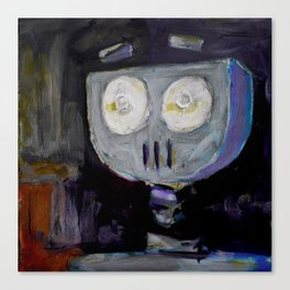 Robot Surprise Canvas Print