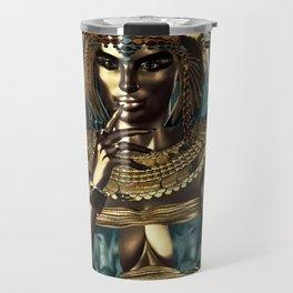 Metallic Queen Travel Mug