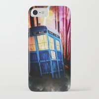 dr who iPhone & iPod Cases featuring dr who by shannon's art space