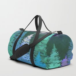 The woods and the moon Duffle Bag