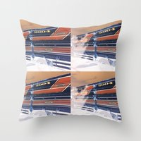ford Throw Pillows featuring Ford by czossi