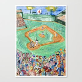 Fenway Canvas Print