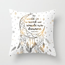 Saved and Remade Throw Pillow