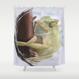 I'm A Bit Of A Chameleon Shower Curtain