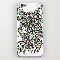 smoking iPhone & iPod Skins featuring Smoking by mary wong ting fung