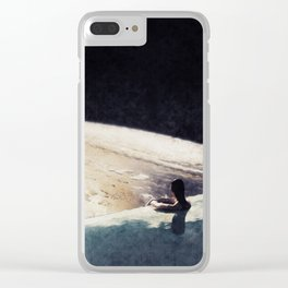 edge of uncertainty Clear iPhone Case