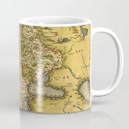 Vintage map of Europe Coffee Mug