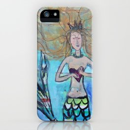 Mermaid: You hold my heart iPhone Case