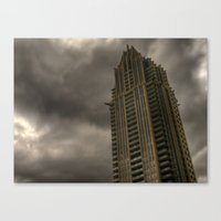 dark tower Canvas Prints featuring Dark Tower by Blanked