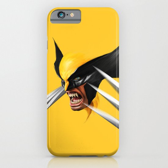 BLACK AND YELLOW iPhone & iPod Case