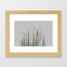GRASSY Framed Art Print