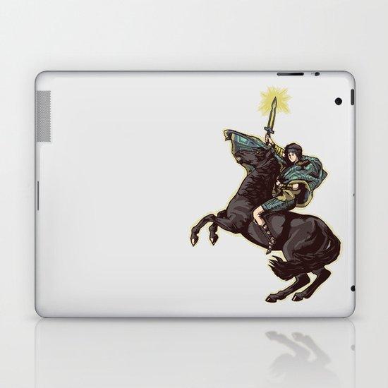 Crossing the forbidden lands Laptop & iPad Skin