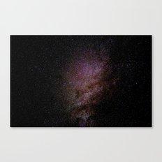 Rainy Stars Canvas Print