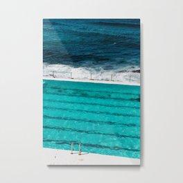 Bondi Beach II art print Metal Print