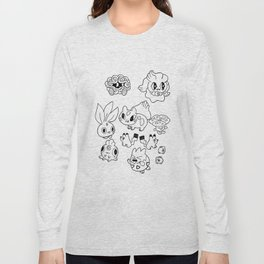 Pokemen  Long Sleeve T-shirt