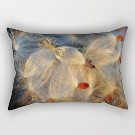 Barre Milk Weed Rectangular Pillow