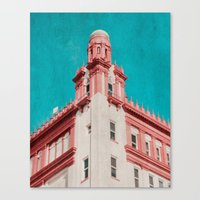 building Canvas Prints featuring Building by Sweet Moments Captured