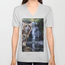 Bobby Joe <3 Waterfalls Unisex V-Neck