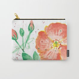 Beach Rose Carry-All Pouch