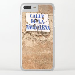 MAGDALENA. Clear iPhone Case