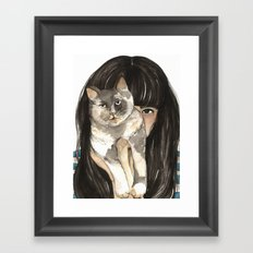 Patislene Framed Art Print
