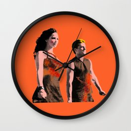 Dark and Powerful Wall Clock