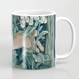 William Morris Forest Rabbits and Foxglove Coffee Mug