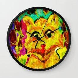 ART the cat kitten  Wall Clock